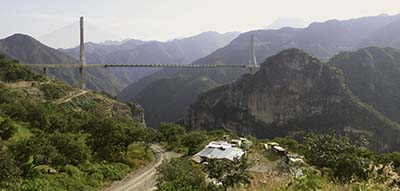 Baluarte Bridge, Durango-Mazatlan highway